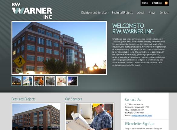 RW Warner Website